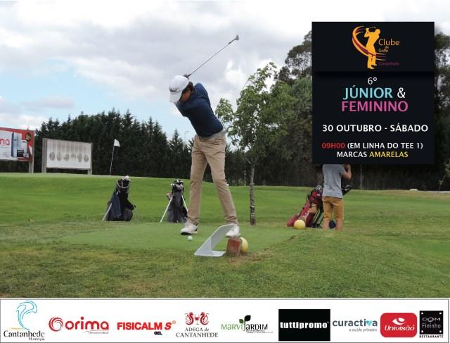 6.º Júnior e feminino - Golfe