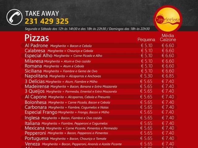 Pizzas | Massas