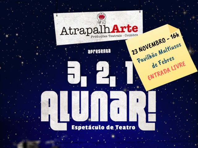Teatro: 3, 2, 1 Alunar!