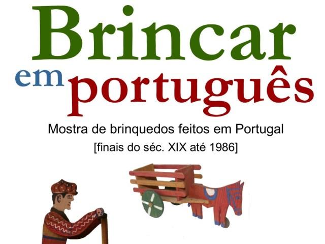 Brincar em Português - Mostra de Brinquedos