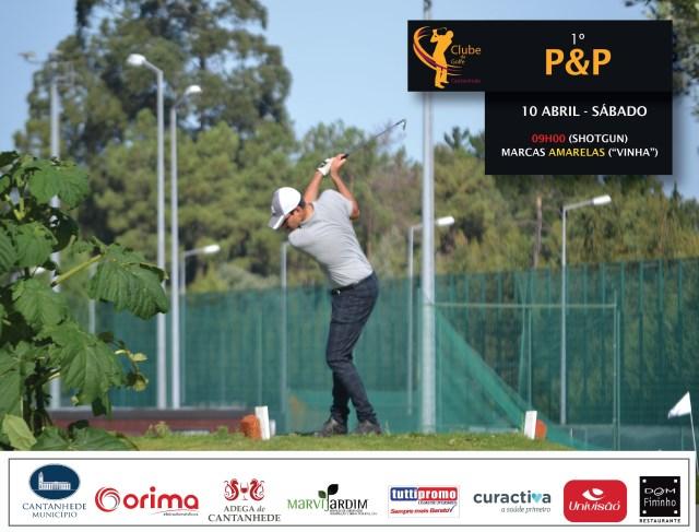Clube de Golfe Cantanhede - 1º torneio P&P