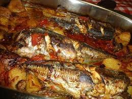 Novilho estufado   Chicharro no forno