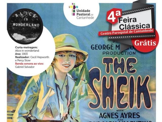 Cinema: O Sheik + Curtas-metragens