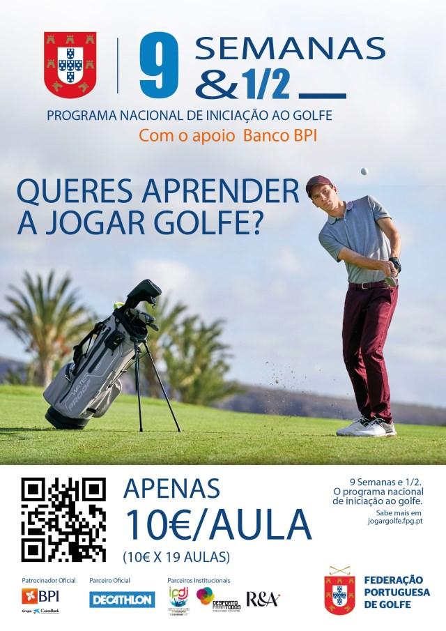 Inscrições abertas no Clube Golfe
