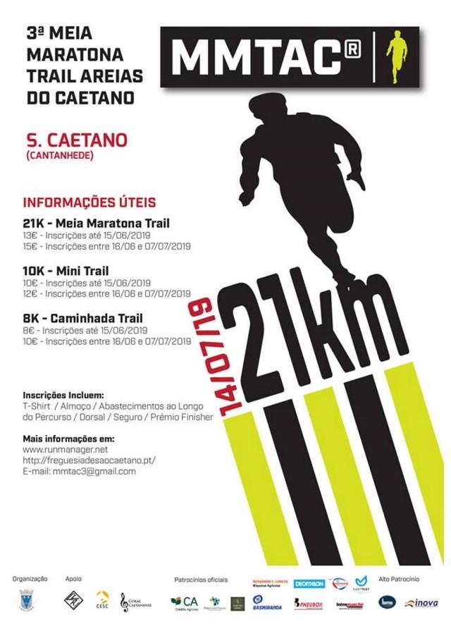3ª Meia Maratona Trail Areias do Caetano - MMTAC