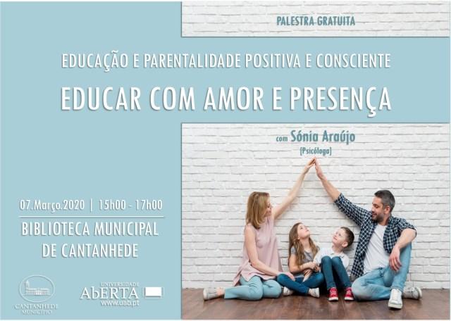 Conferência: Educar com Amor e Presença